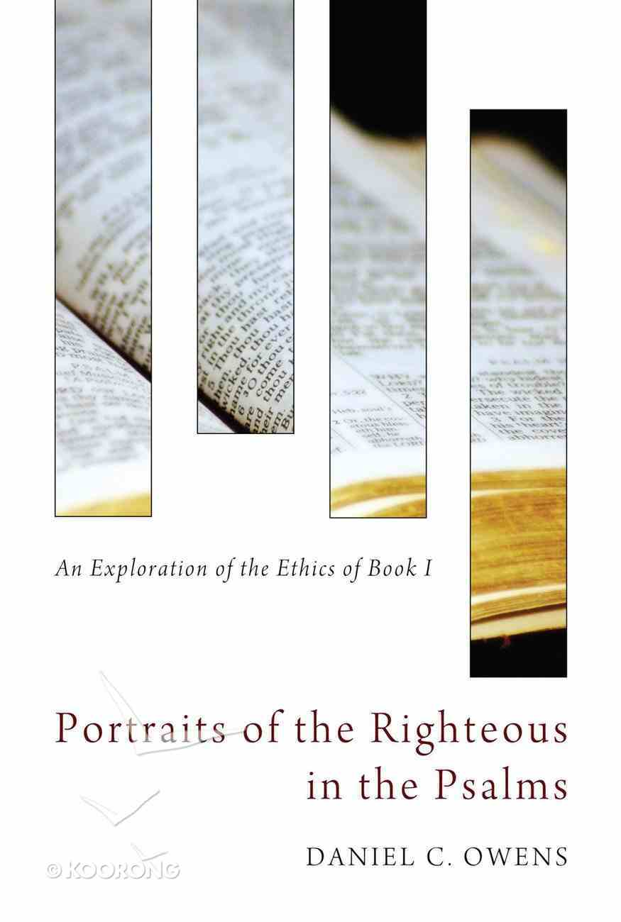 Portraits of the Righteous in the Psalms eBook