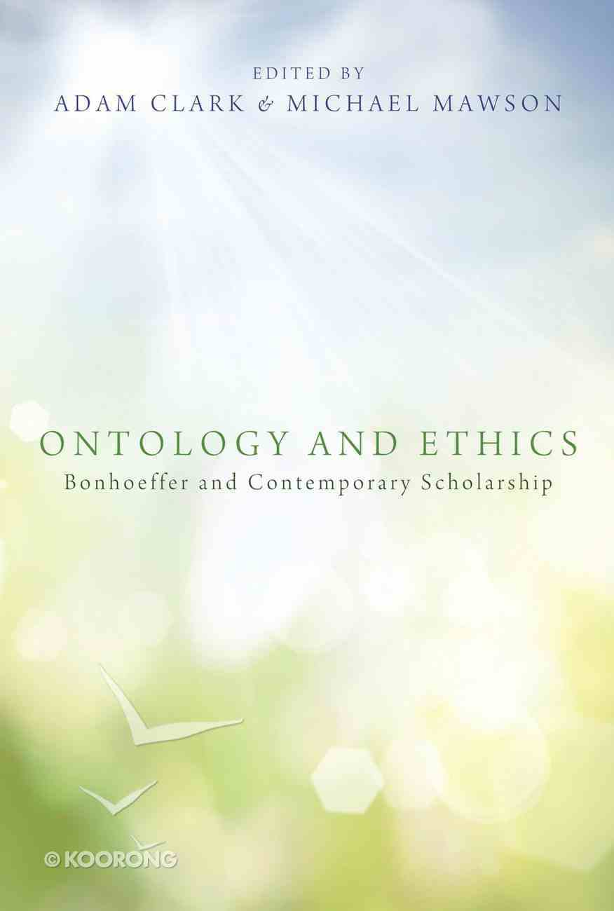 Ontology and Ethics eBook