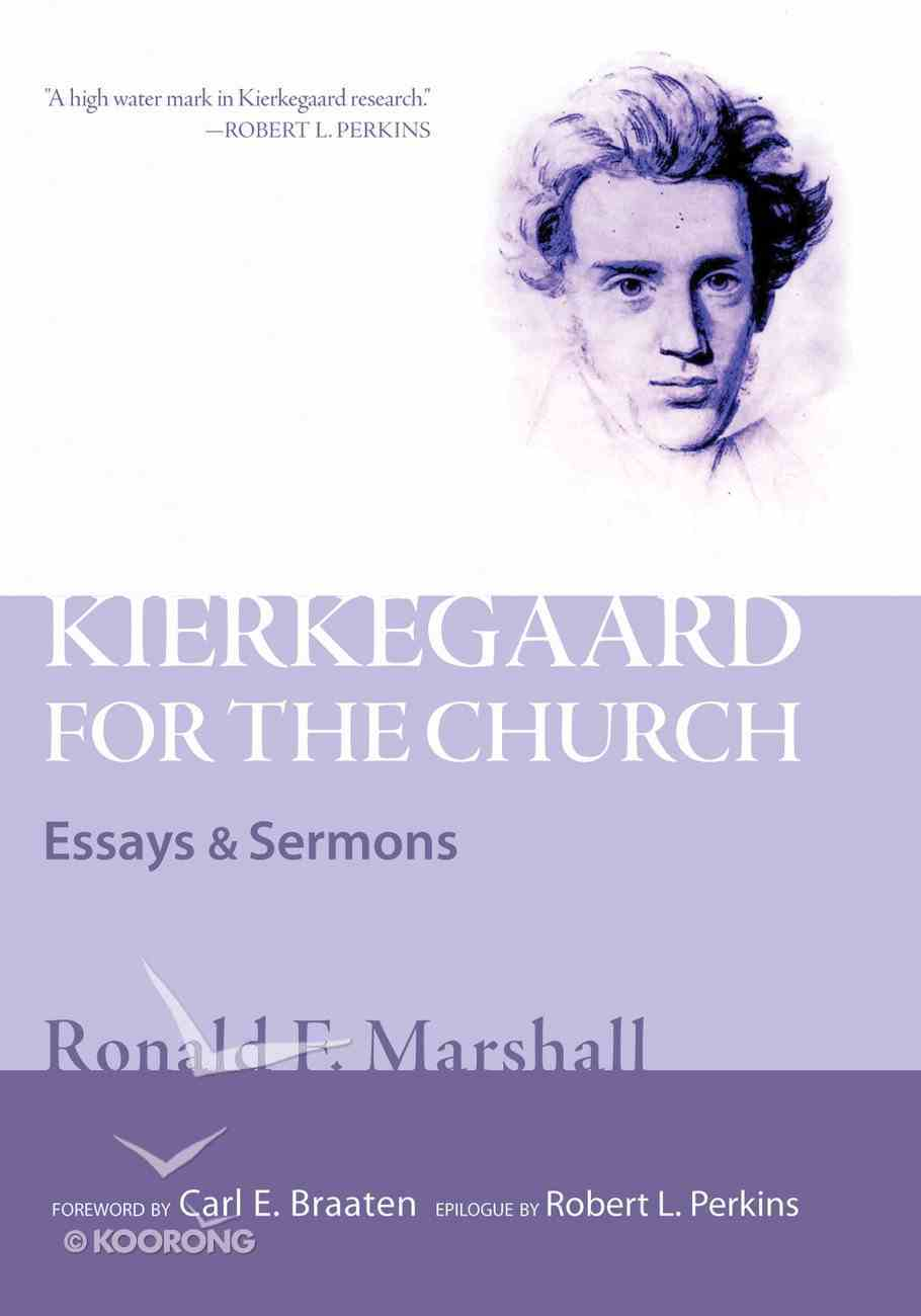 Kierkegaard For the Church eBook