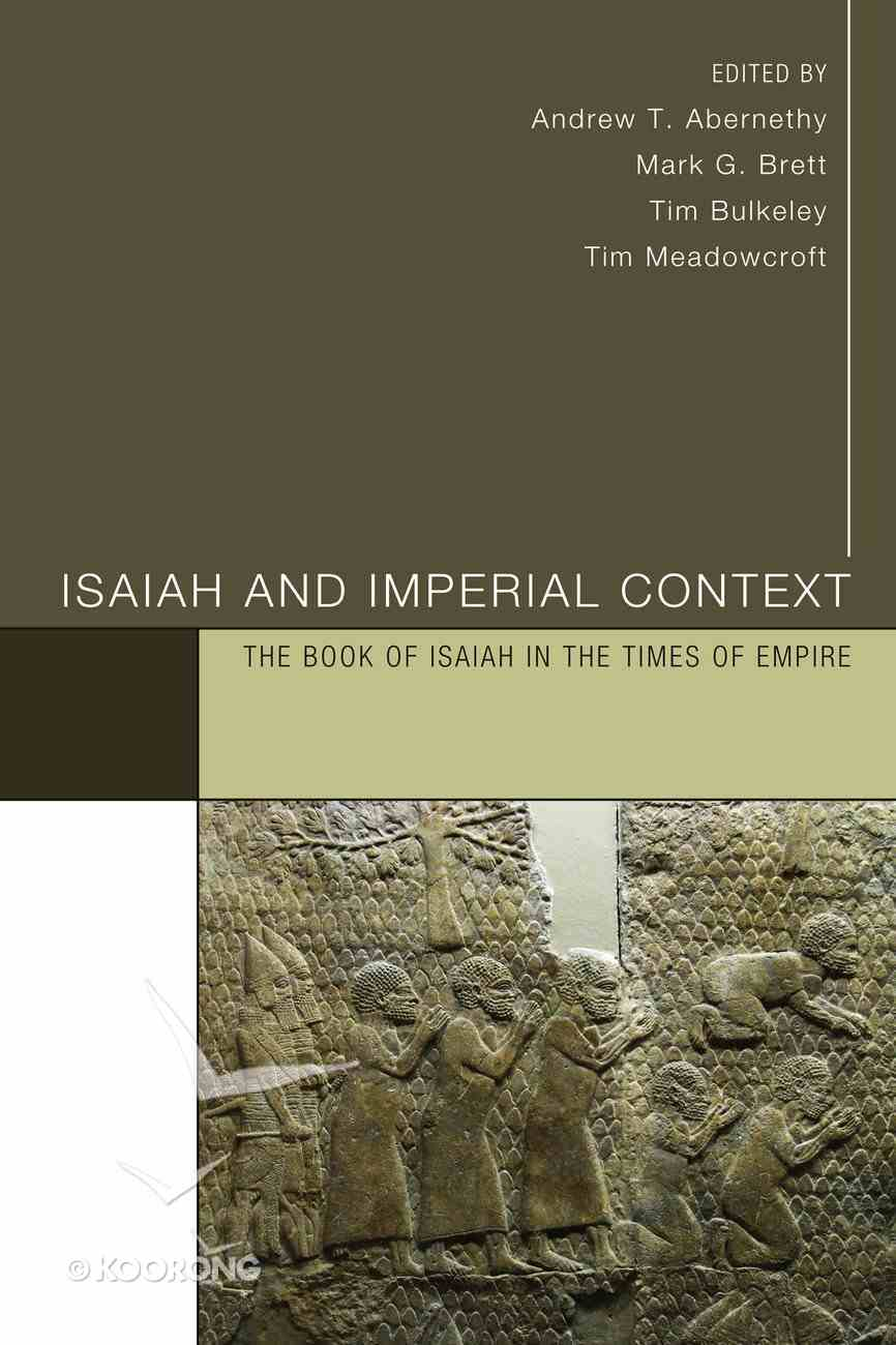 Isaiah and Imperial Context eBook