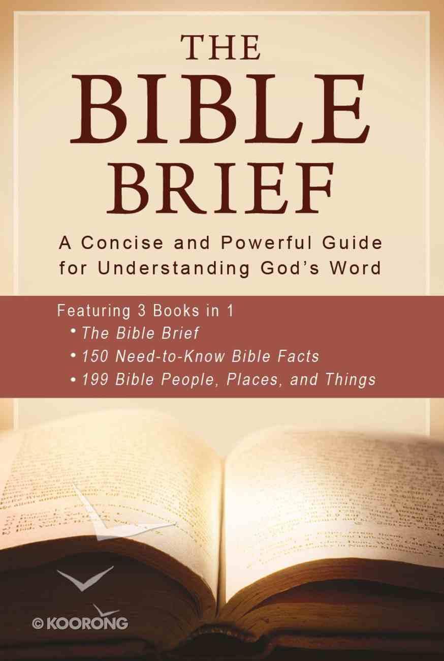 Bible Brief, the 3-In-1 eBook