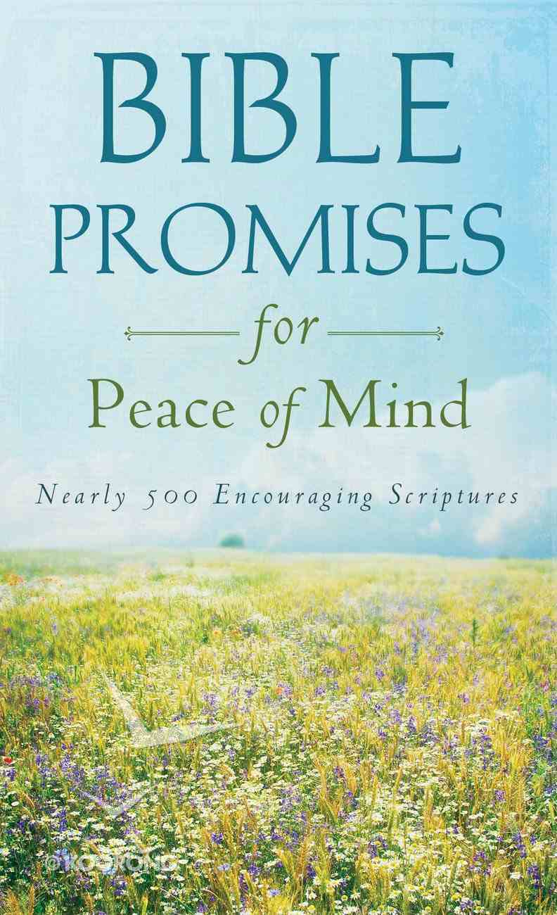 Value Books: Bible Promises For Peace of Mind eBook