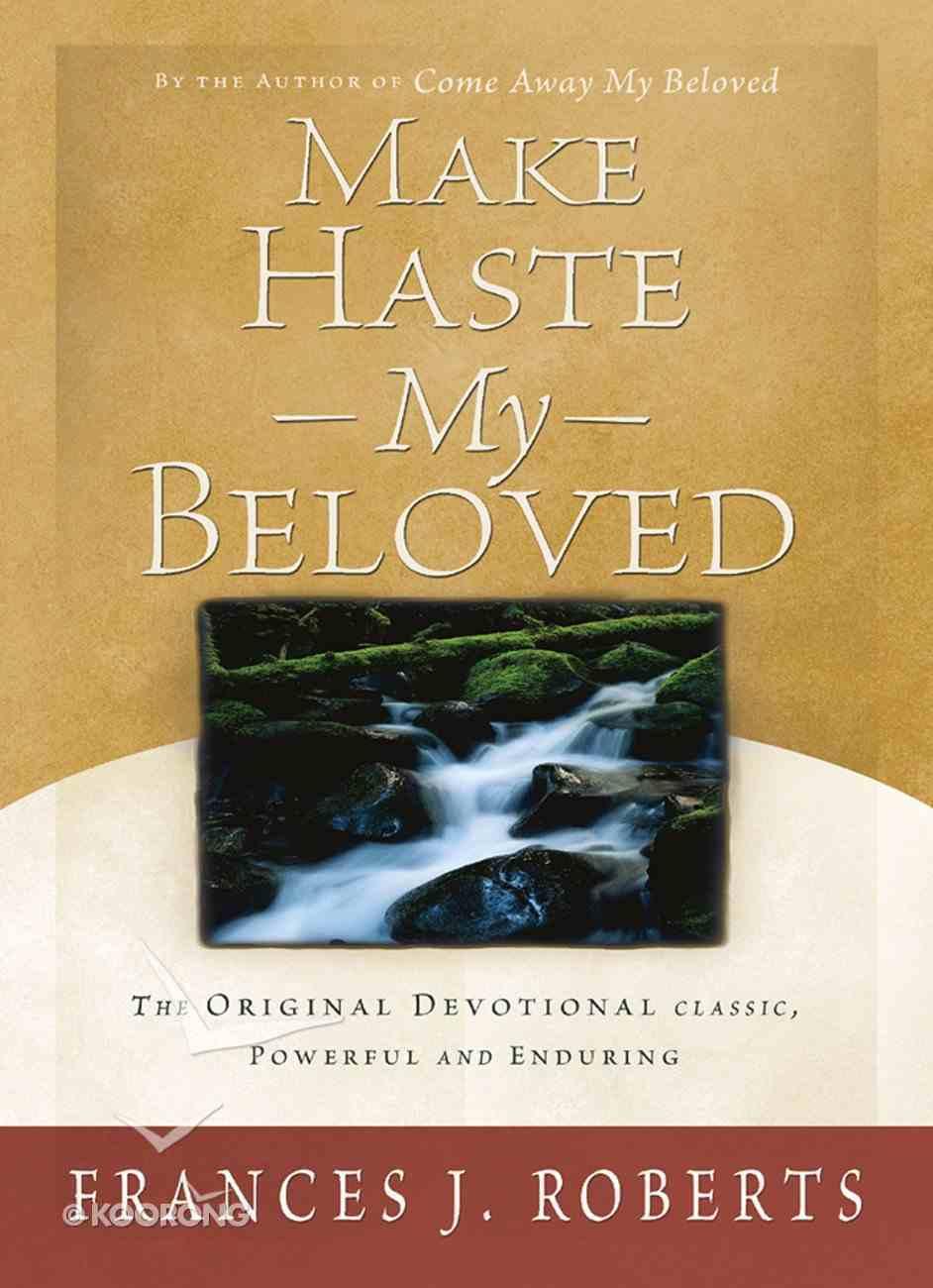Make Haste My Beloved eBook