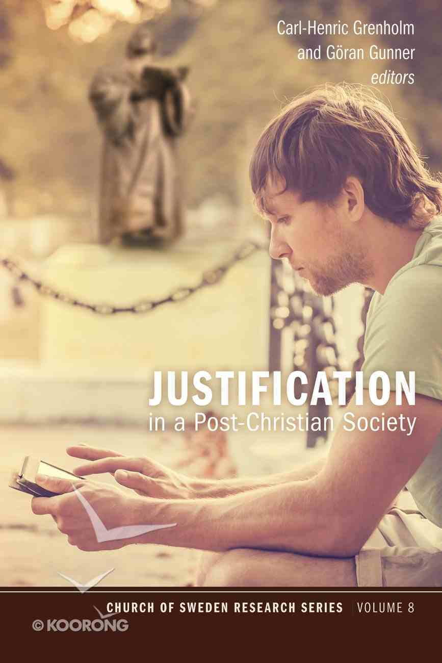 Justification in a Post-Christian Society Paperback