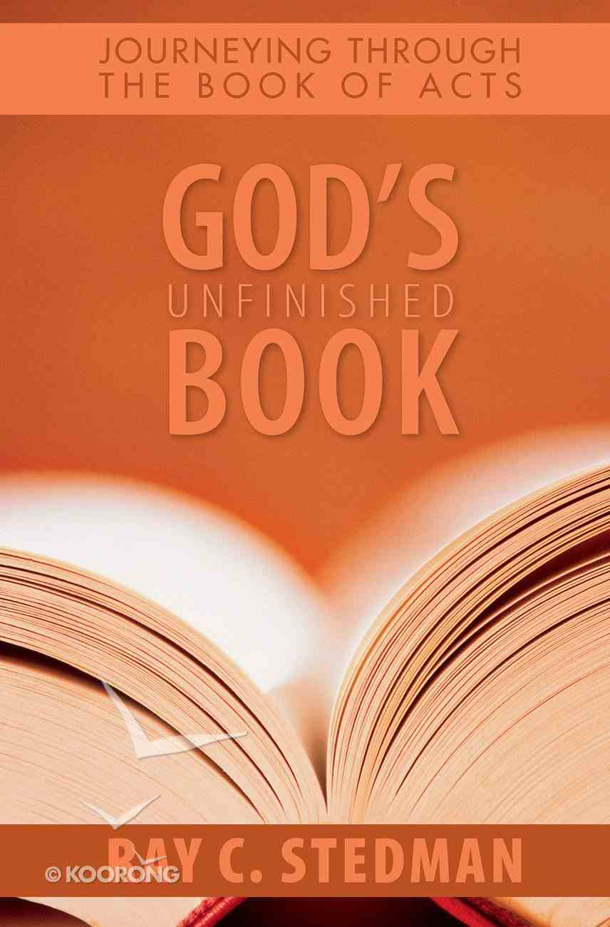 God's Unfinished Book eBook