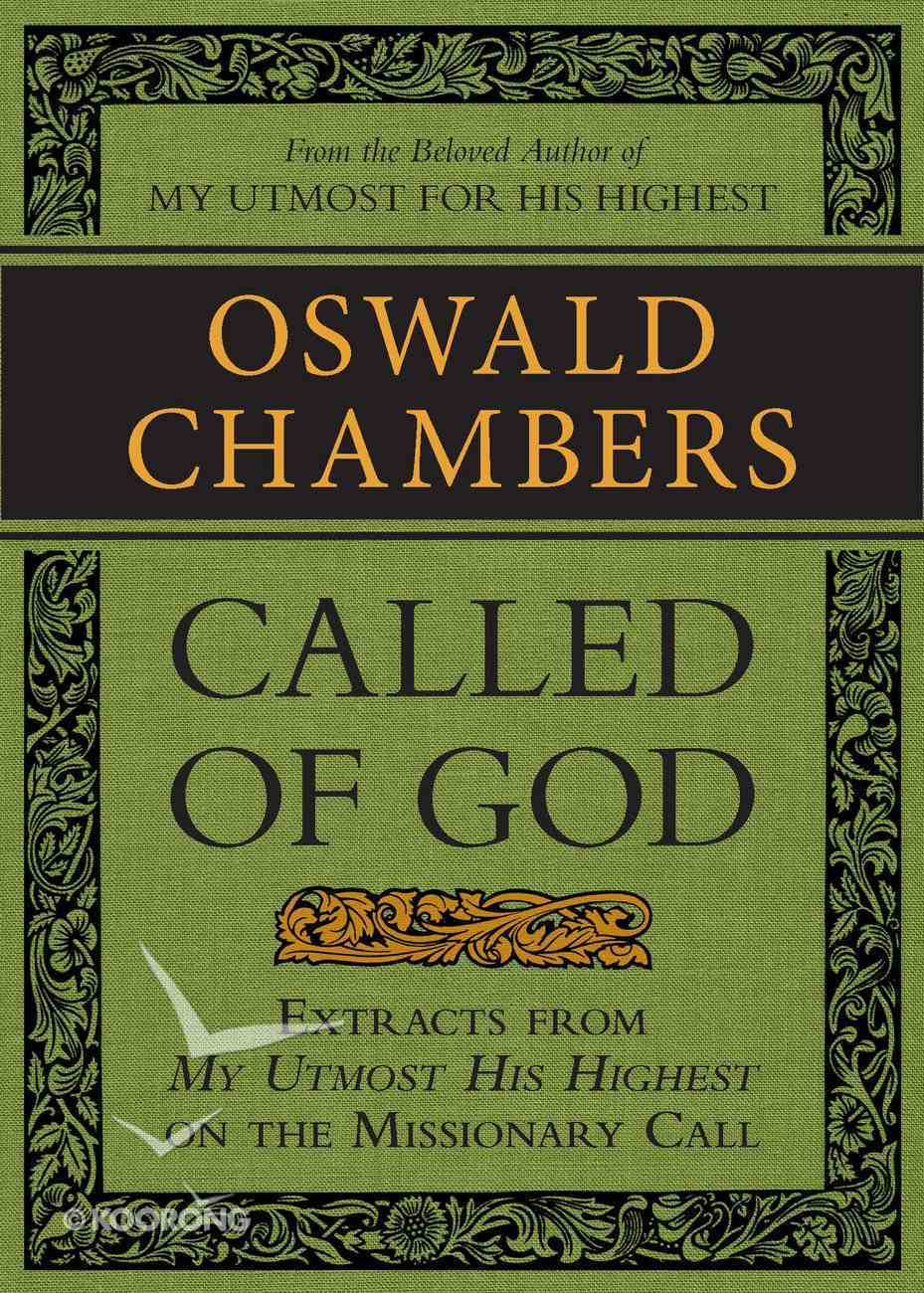 Called of God eBook