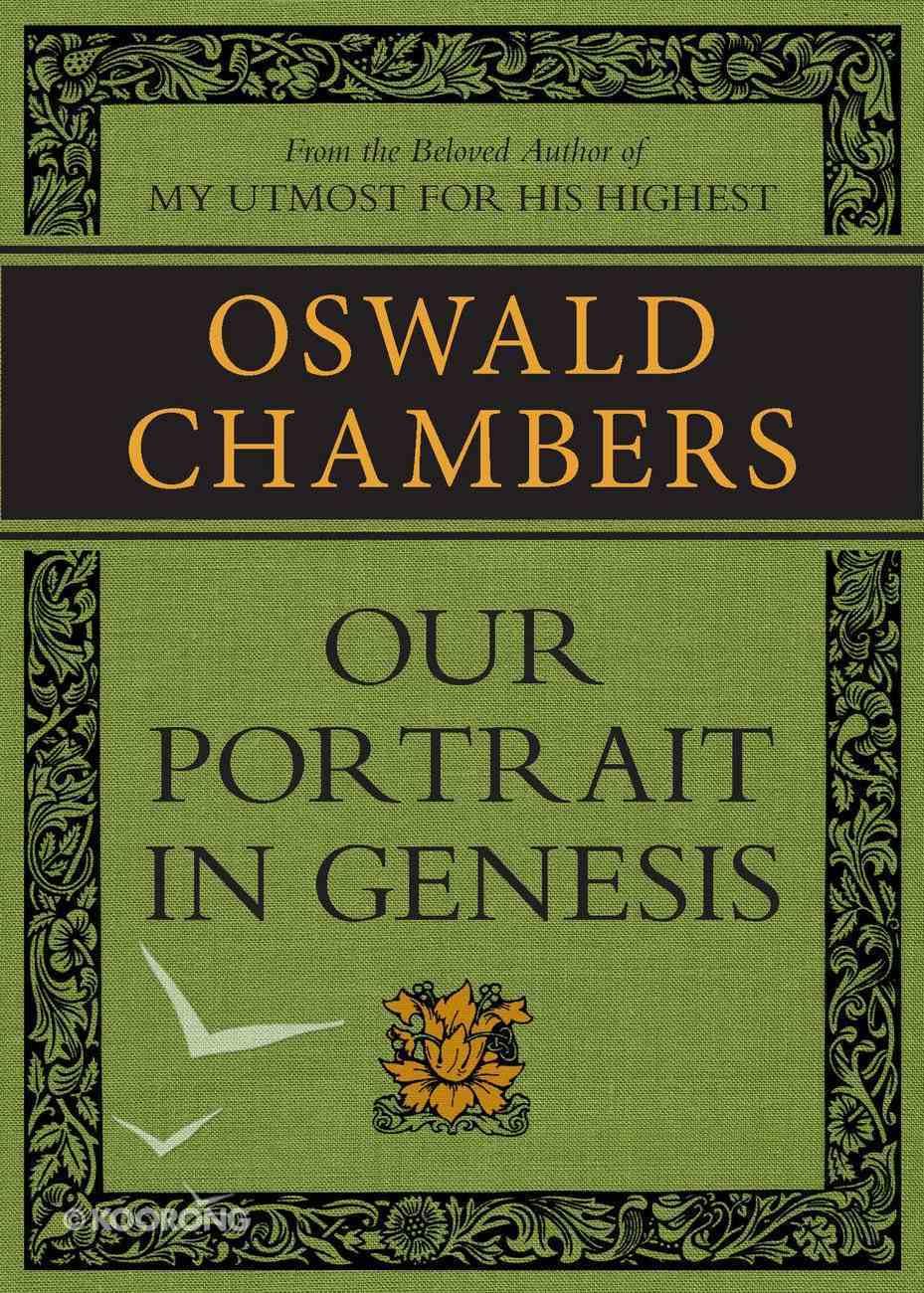 Our Portrait in Genesis eBook