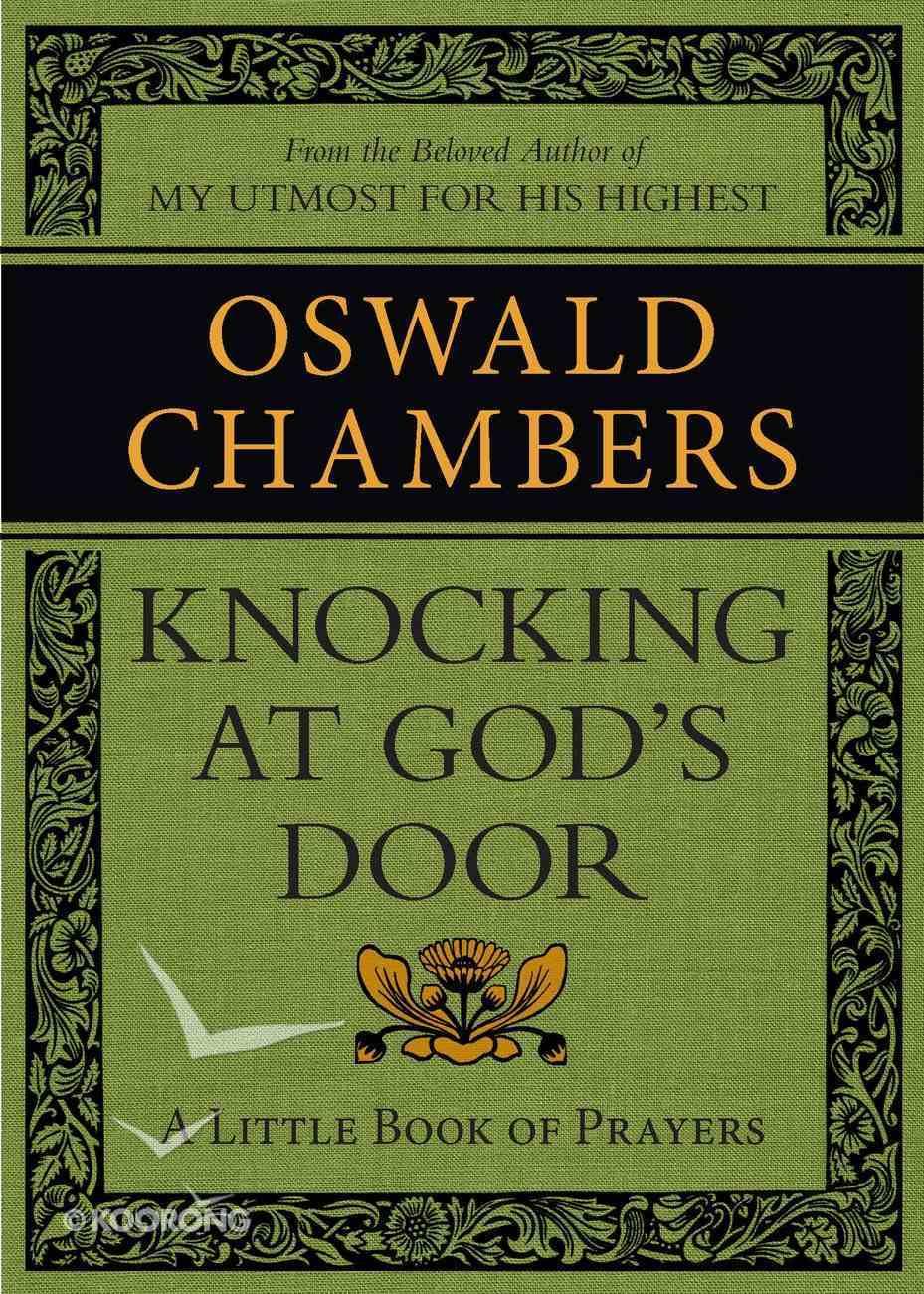 Knocking At God's Door: A Little Book of Prayers eBook