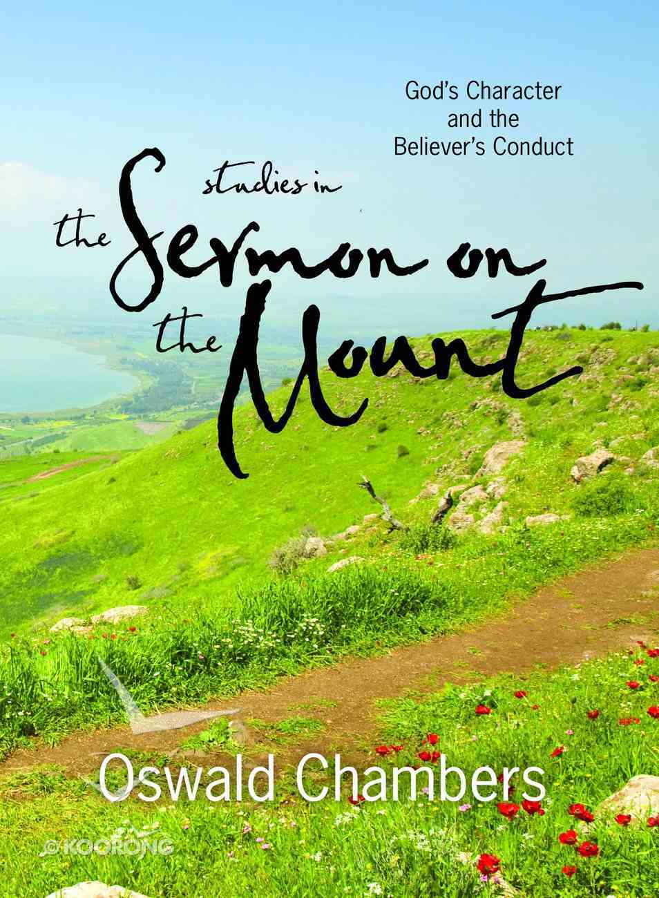 Studies in the Sermon on the Mount eBook