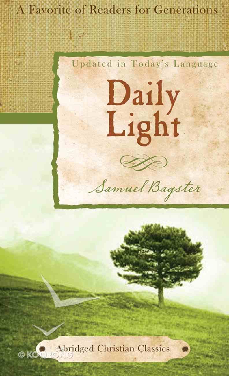 Daily Light (Abridged Christian Classics Series) eBook