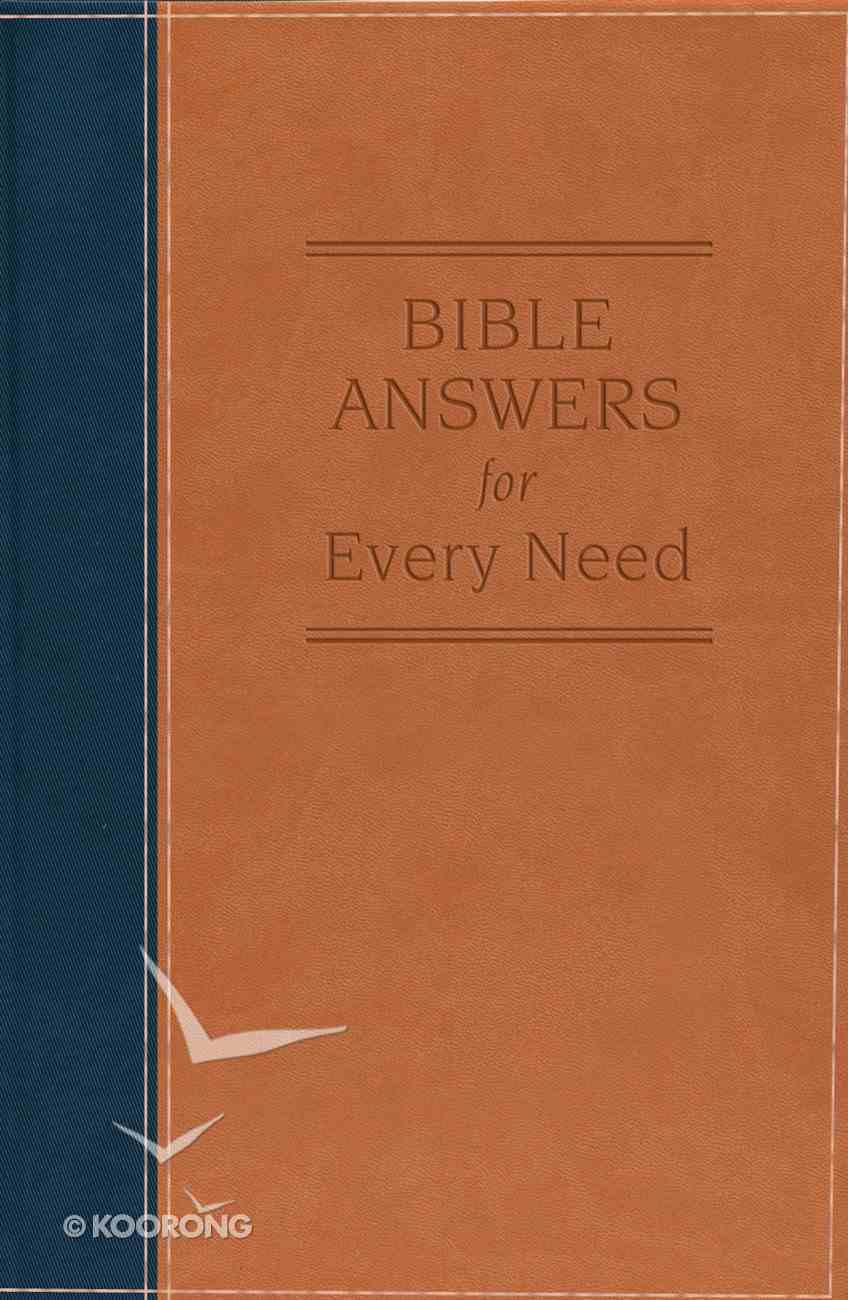 Bible Answers For Every Need eBook