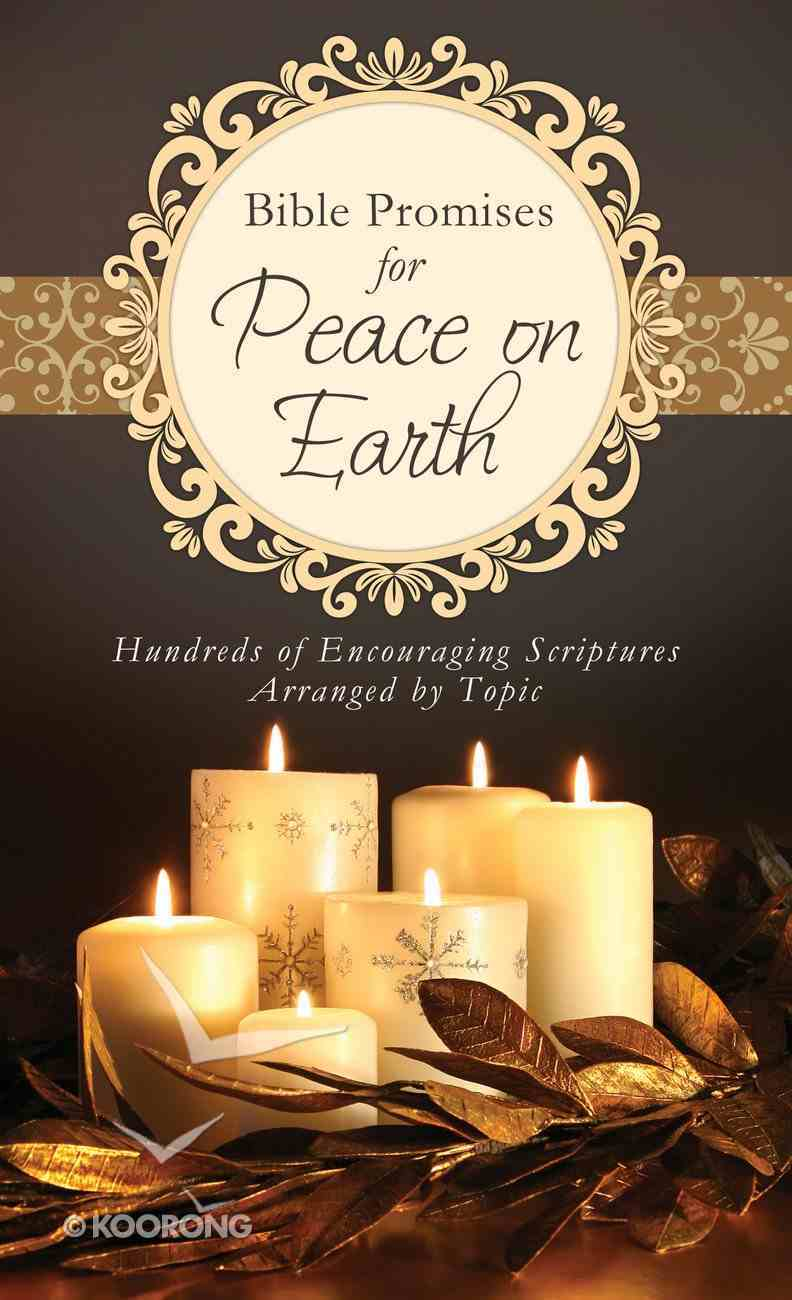 Bible Promises For Peace on Earth eBook