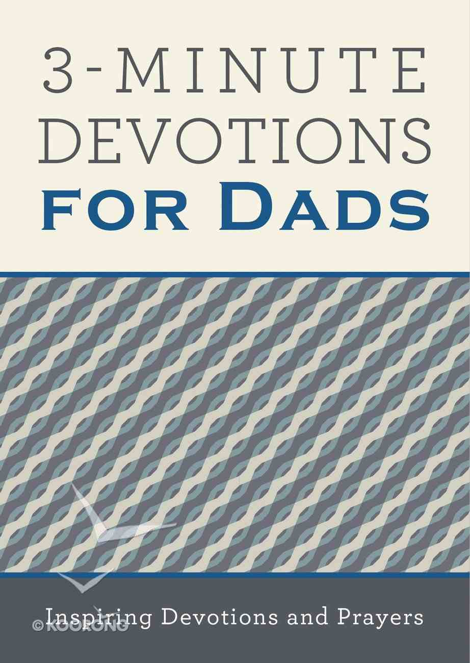 3-Minute Devotions For Dads eBook