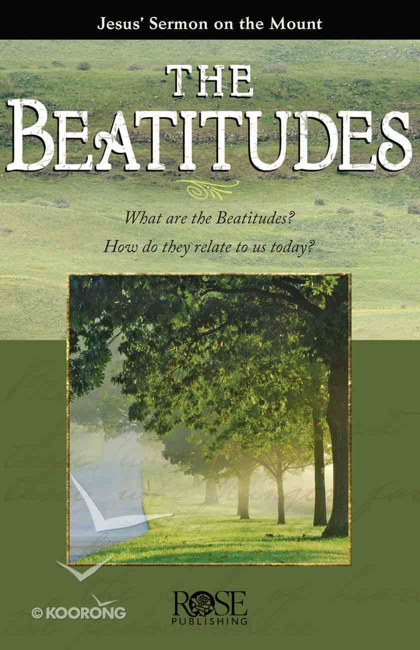 Beatitudes: Jesus' Sermon on the Mount (Rose Guide Series) eBook