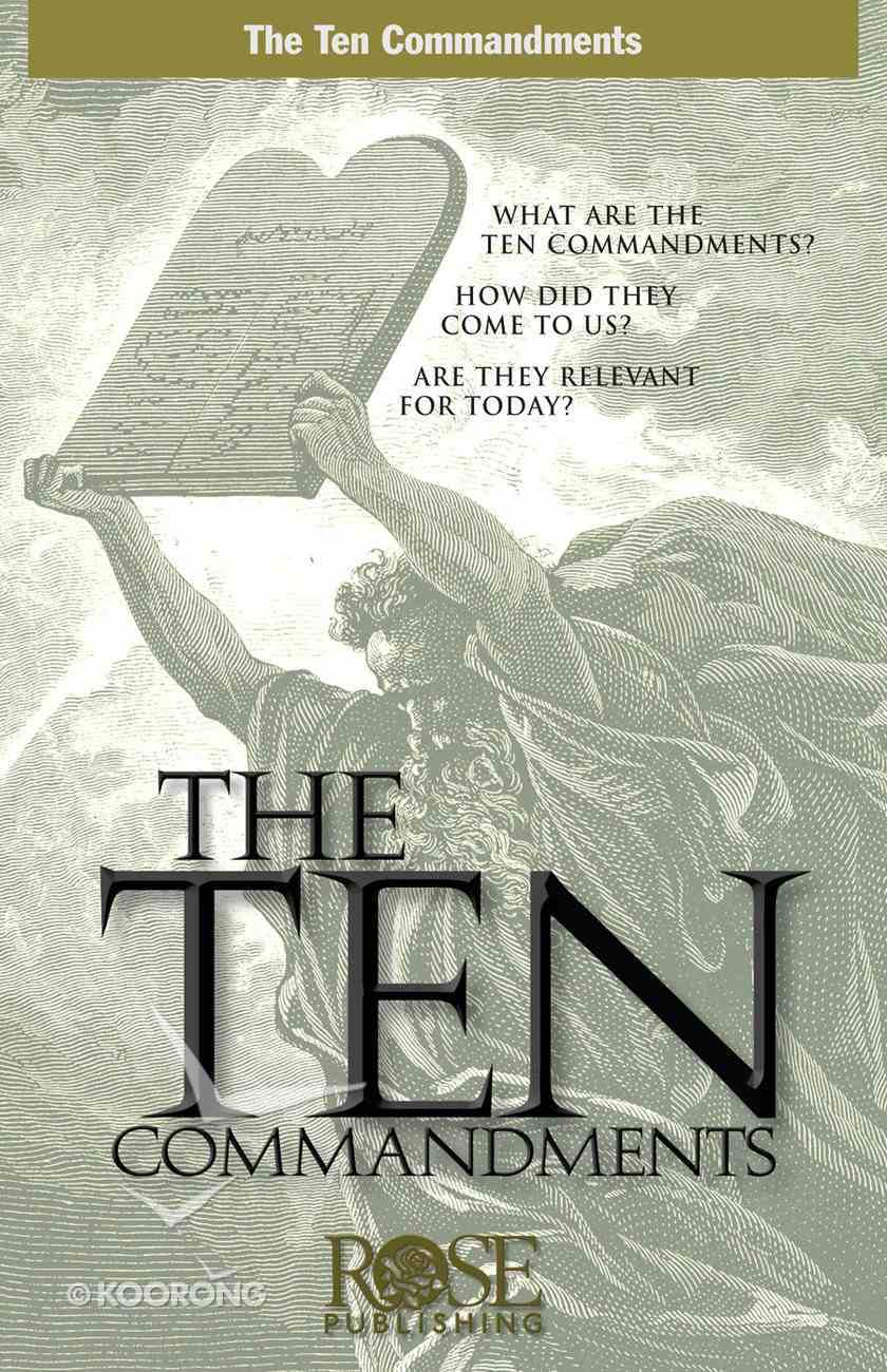 Ten Commandments (Rose Guide Series) eBook