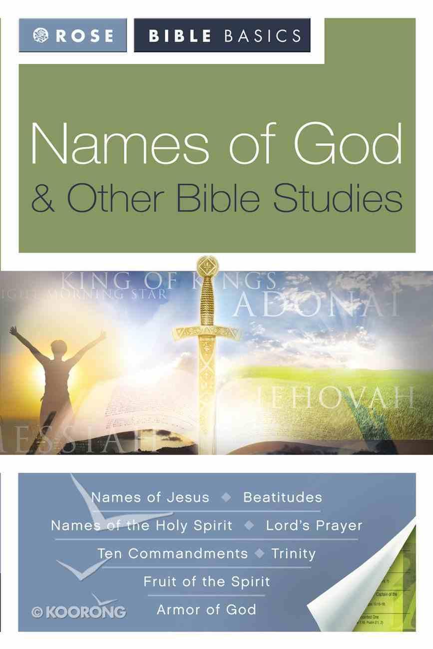 Names of God (Rose Bible Basics Series) eBook