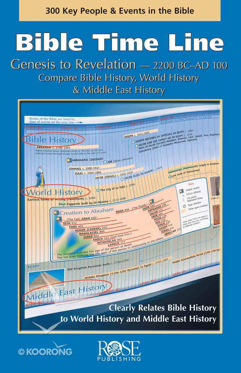 Bible Timeline: Genesis to Revelation (Rose Guide Series) eBook
