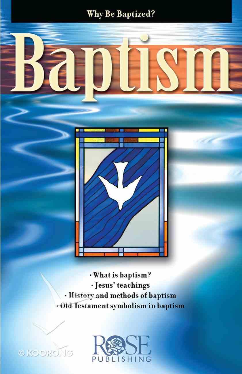 Baptism (Rose Guide Series) eBook