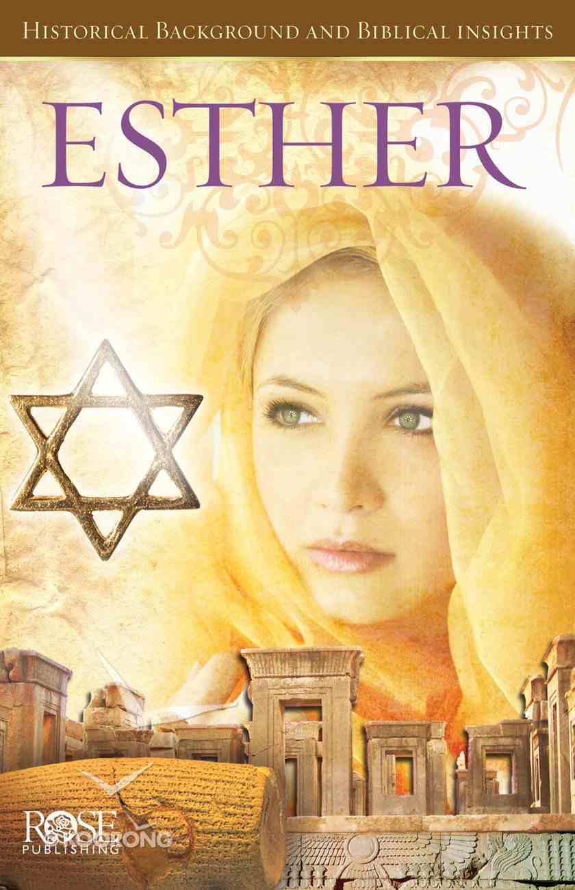 Esther (Rose Guide Series) eBook