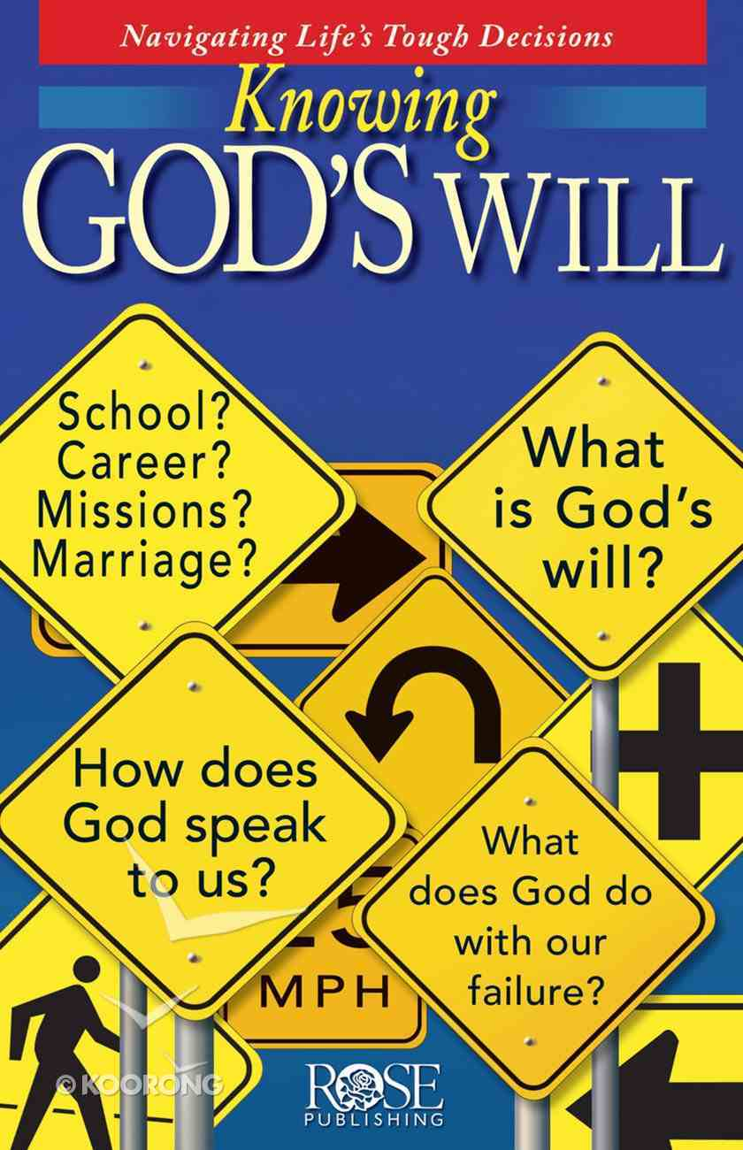 Knowing God's Will (Rose Guide Series) eBook