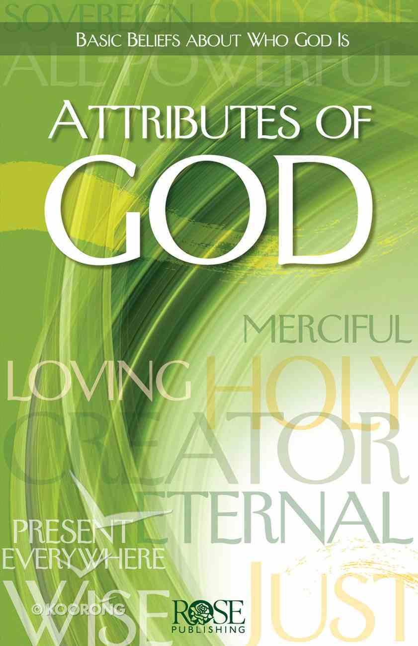 Attributes of God (Rose Guide Series) eBook