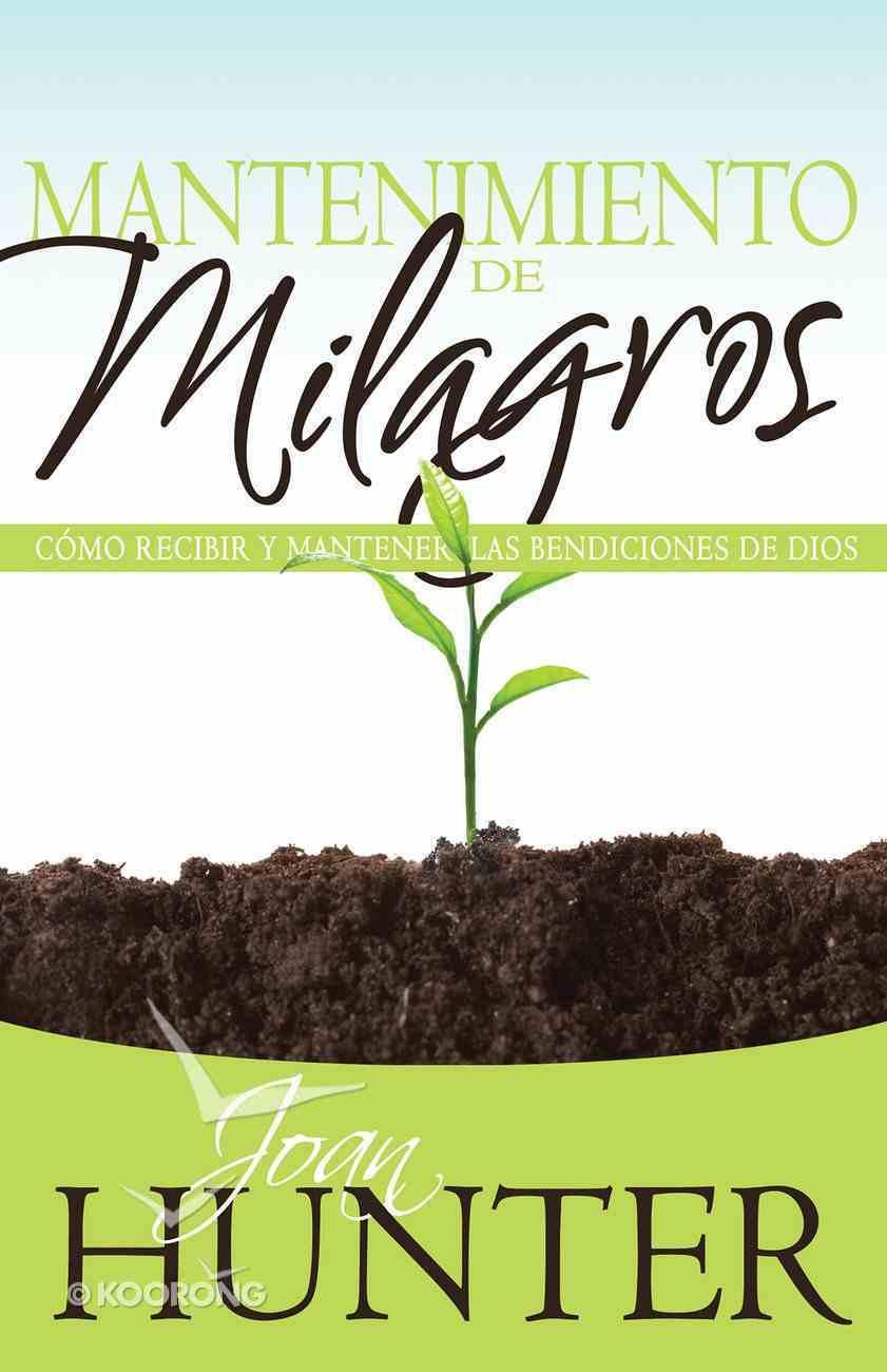 Mantenimiento De Milagros eBook