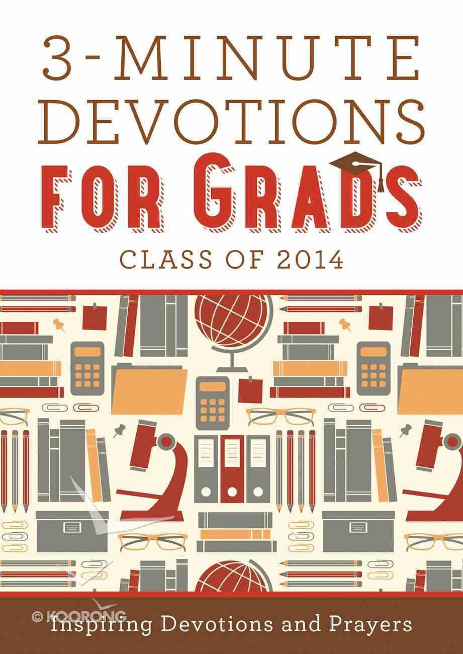 3-Minute Devotions For Grads eBook