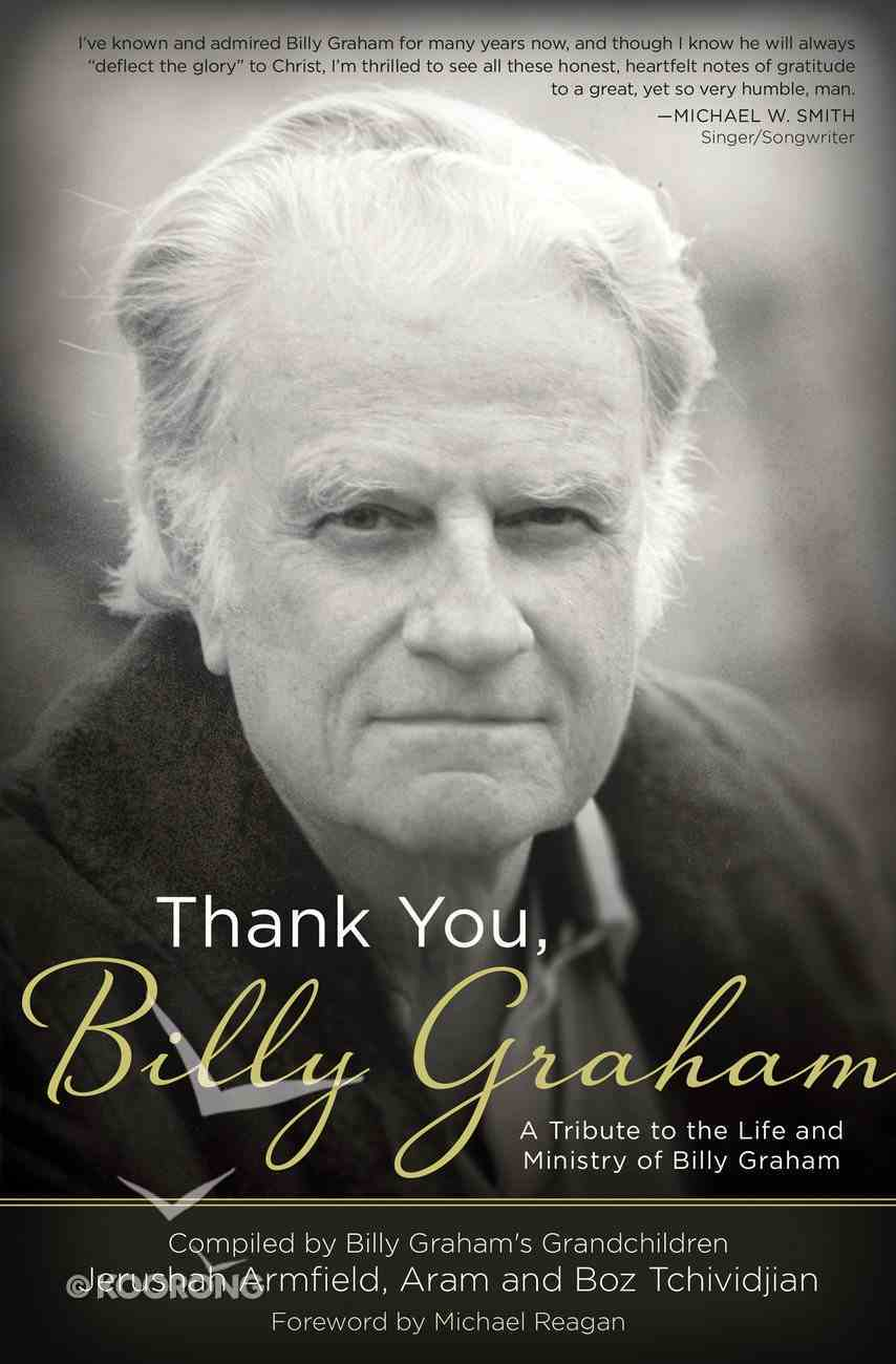 Thank You, Billy Graham eBook