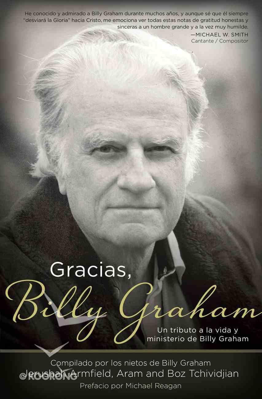 Gracias, Billy Graham eBook