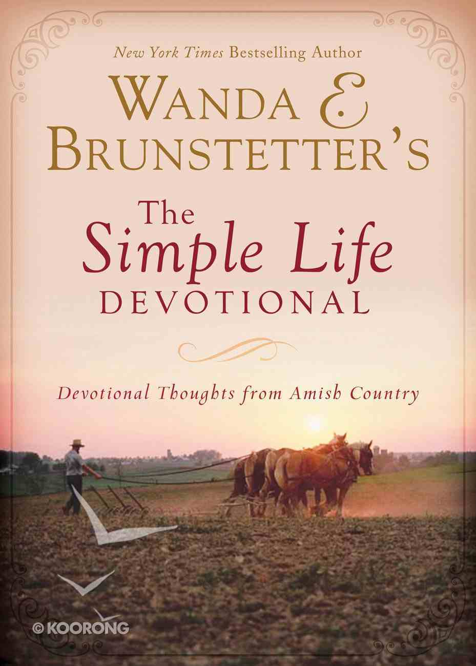 Wanda E. Brunstetter's the Simple Life Devotional eBook