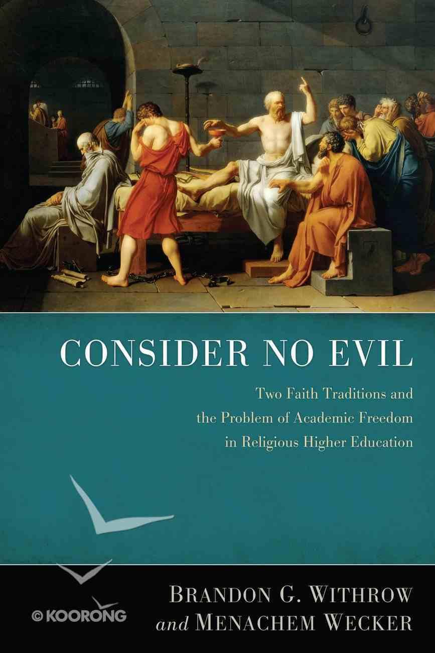 Consider No Evil eBook