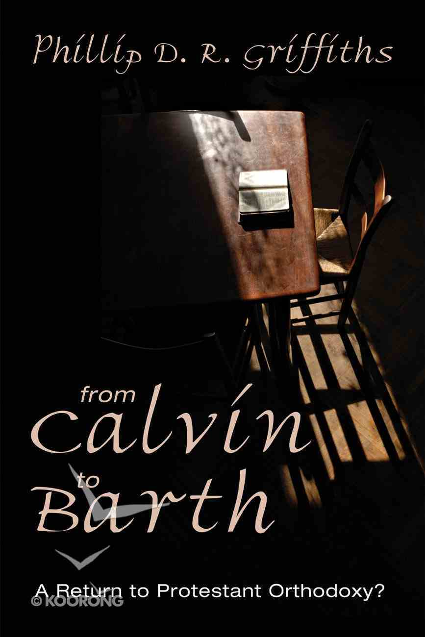 From Calvin to Barth eBook