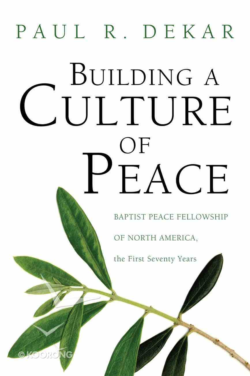 Building a Culture of Peace eBook