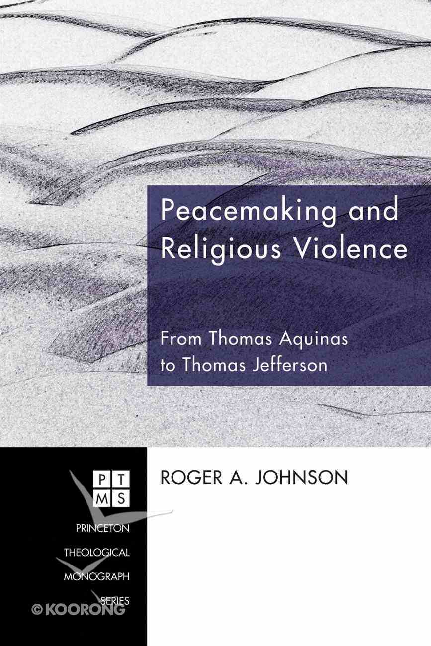 Peacemaking and Religious Violence eBook