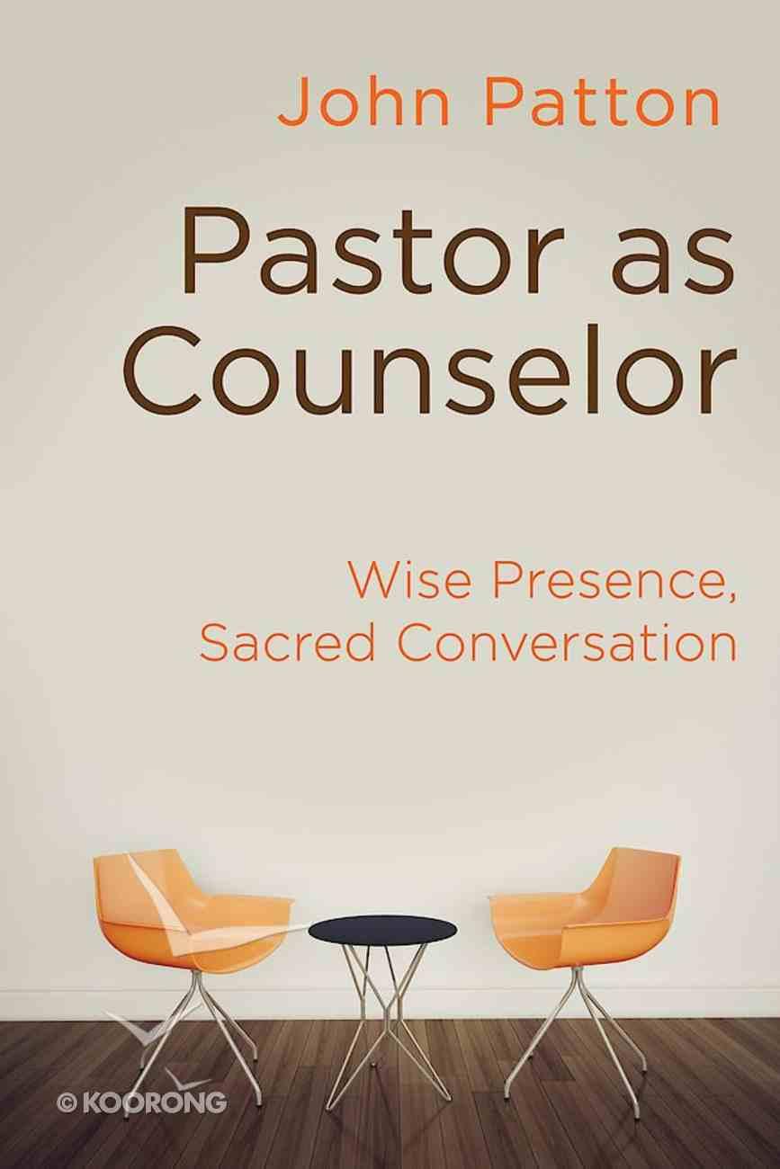 Pastor as Counselor eBook
