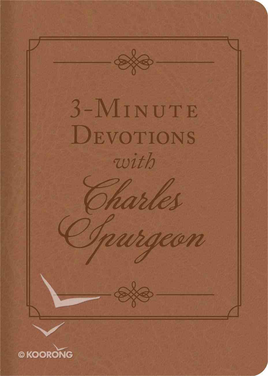 3-Minute Devotions With Charles Spurgeon eBook