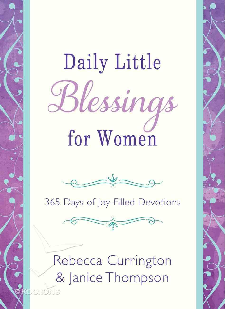 Daily Little Blessings For Women eBook