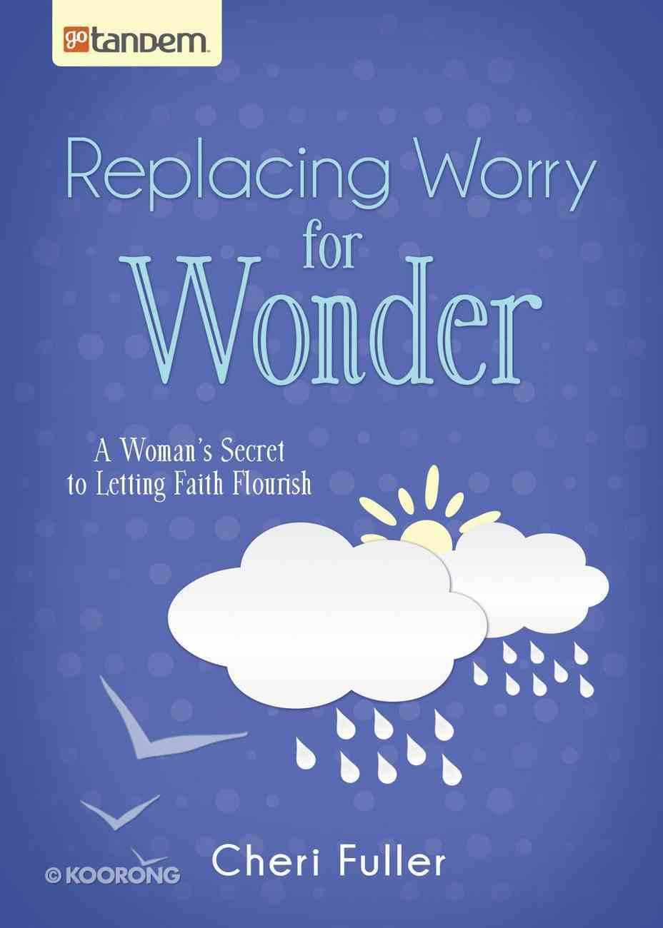 Replacing Worry For Wonder eBook