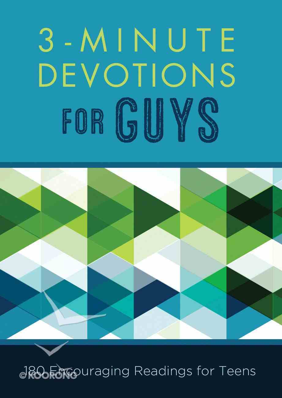 3-Minute Devotions For Guys eBook