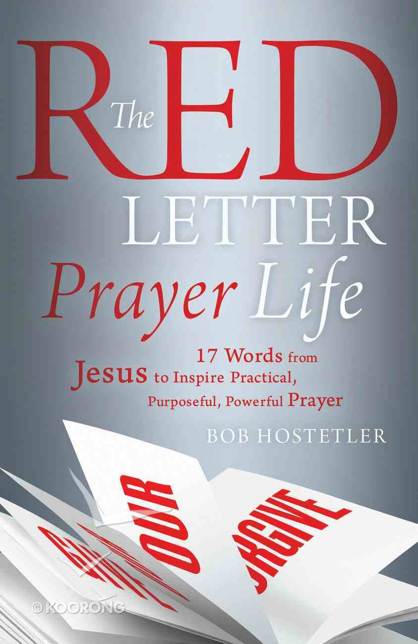 The Red Letter Prayer Life eBook