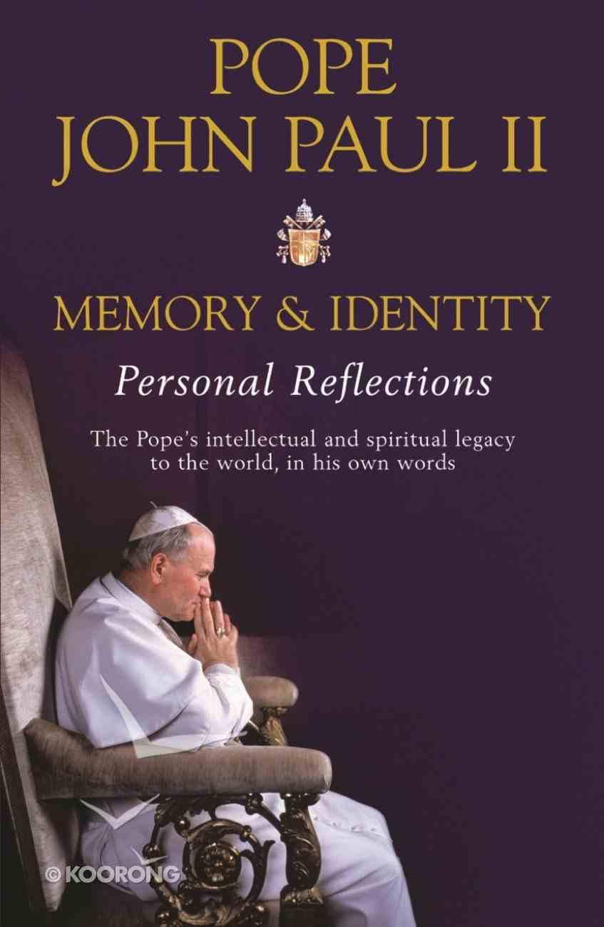 Memory and Identity eBook