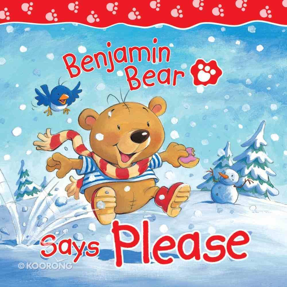 Benjamin Bear Says Please eBook
