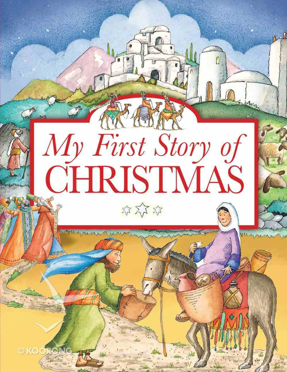 My First Story of Christmas eBook