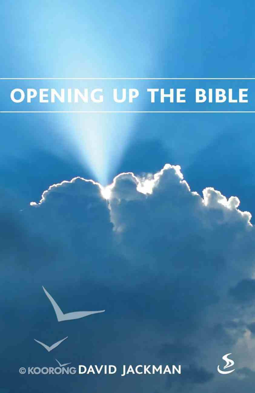 Opening Up the Bible eBook