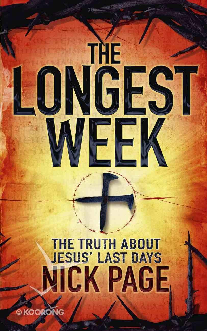 The Longest Week eBook