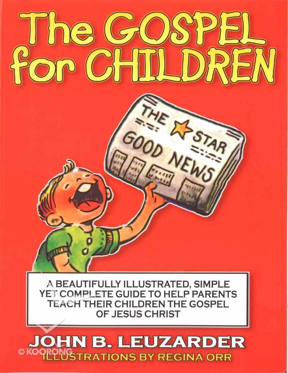 The Gospel For Children eBook