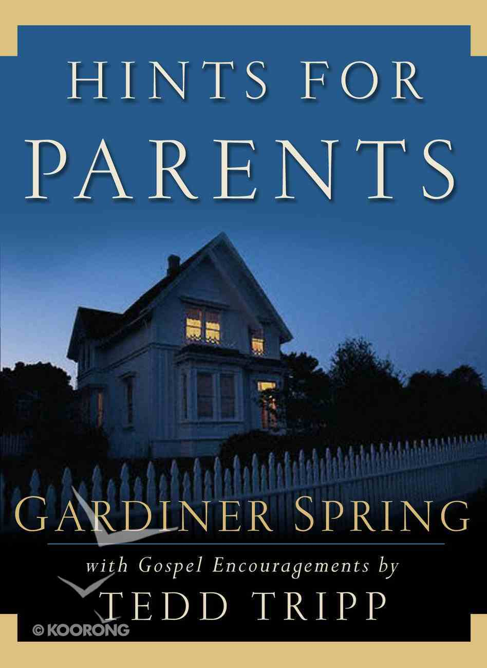 Hints For Parents eBook