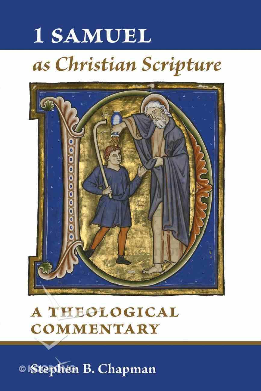 1 Samuel as Christian Scripture Paperback