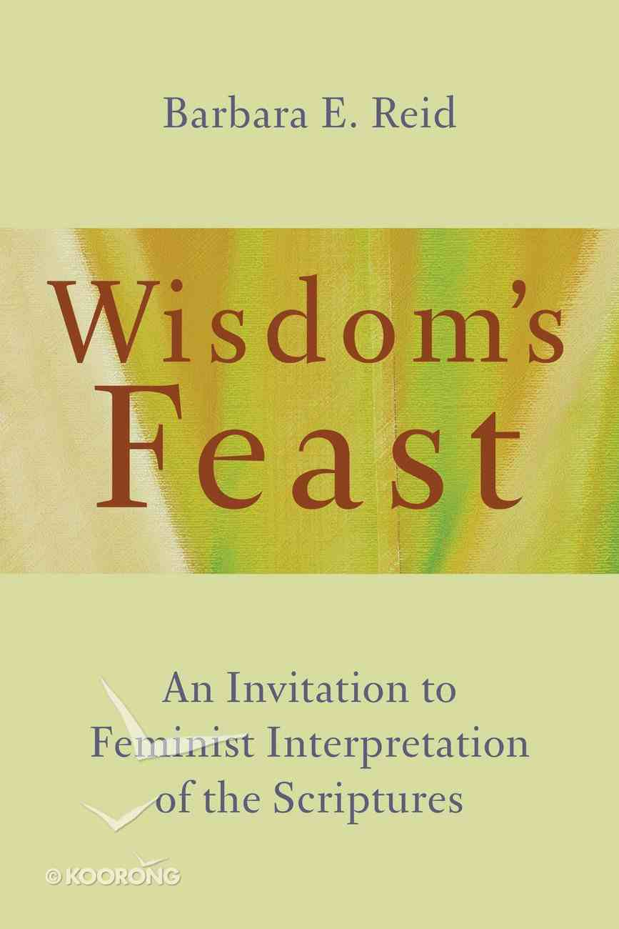 Wisdom's Feast Paperback