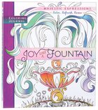 Adult Coloring Journal: Joy Like A Fountain image